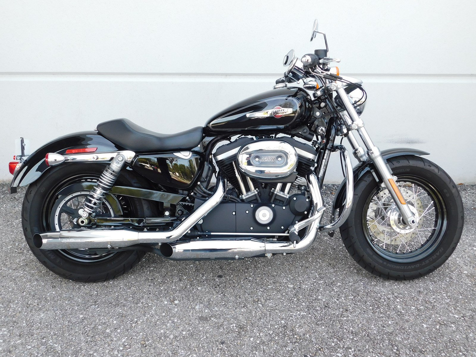 pre owned 2016 harley davidson sportster 1200 custom xl1200cp sportster in west palm beach. Black Bedroom Furniture Sets. Home Design Ideas